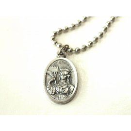 Saint Barbara Holy Medal - Chain not included