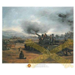 Fire Base Vietnam - 11x14 Print