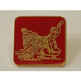Square Molly Pitcher Lapel Pin
