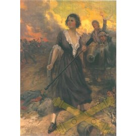 "Molly Pitcher Color Print - 8.5"" x 11"""