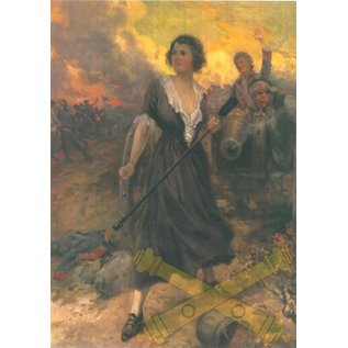 """Molly Pitcher Color Print - 8.5"""" x 11"""""""
