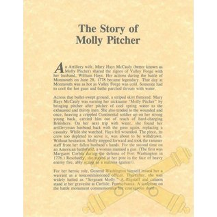 Molly Pitcher Legend - 8x10