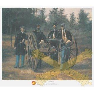 Field Artillerymen - 18x24 Print