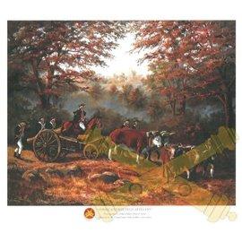America's First Field Artillery - 11x14 Print