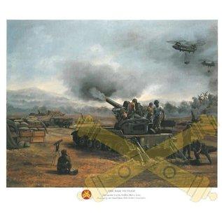 Fire Base Vietnam - 18x24 Print