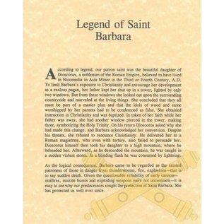 Saint Barbara Legend - 8x10
