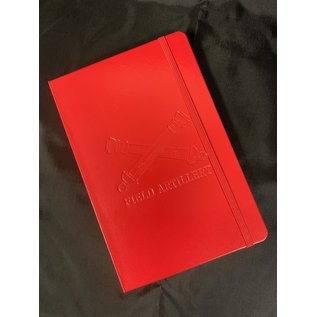 Field Journal Red with Crossed Cannons