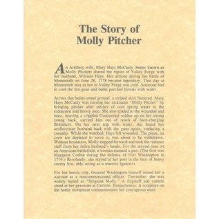 Molly Pitcher Legend (11x14)