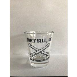 Field Artillery Shot Glass