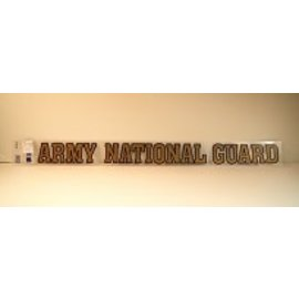 Army National Guard Strip Sticker