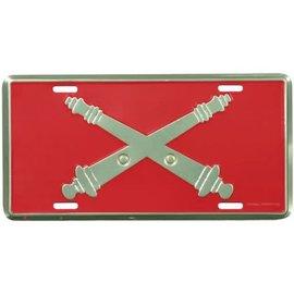 Field Artillery License Plate
