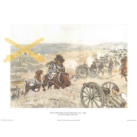 Battle of Malvern Print 11x14