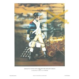 Revolutionary War Sergeant Print 11x14