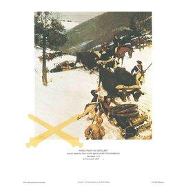 Knox Sends Artillery Print 11x14