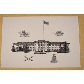 McNair Hall Print
