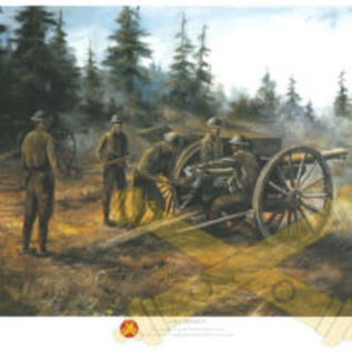 Fire Mission - Signed 18x24 Print