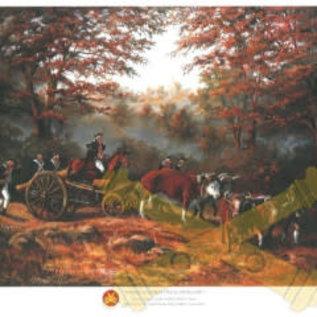 American's First Field Artillery - 18x24 Print
