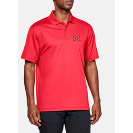 Under Armour Crossed Cannons Polo - Large, Red