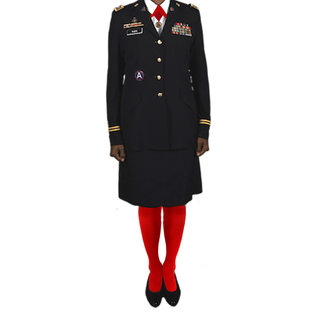 Woman's Red Tights - Regular