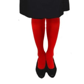 "Woman's Red Tights - Tall (Over 5'10"")"