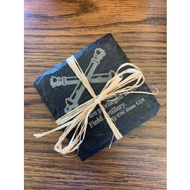 FA Quotes Slate Coasters - Set of 4