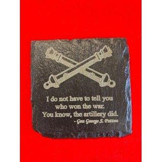 FA Quotes Slate Coasters - Set of 4
