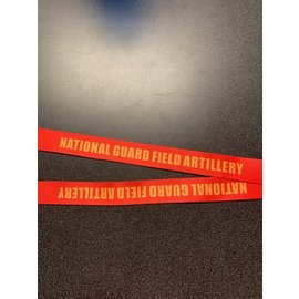National Guard Field Artillery Lanyard