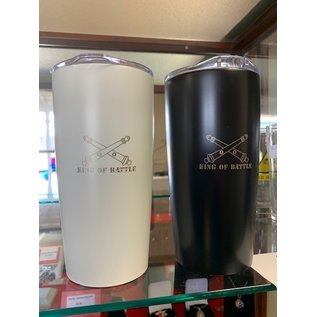 20 oz Stainless Steel Double Wall Tumbler - Black