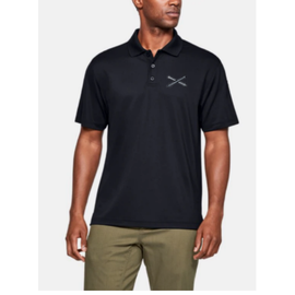 Under Armour Crossed Cannons Polo - Large, Black
