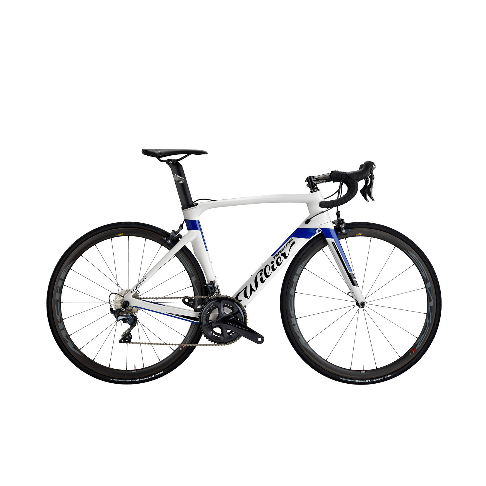 Wilier Medium Cento1Air Frameset White/Blue