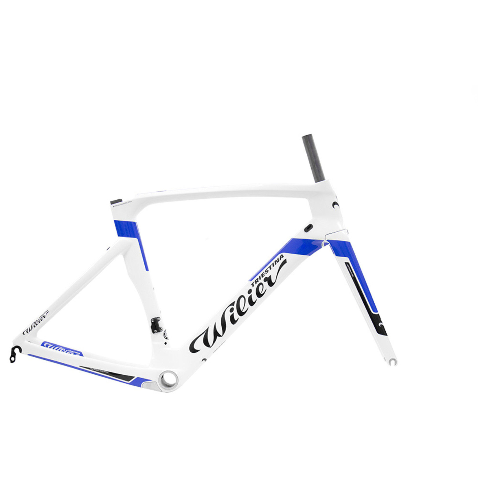 Wilier Large Cento1Air Frameset White/Blue