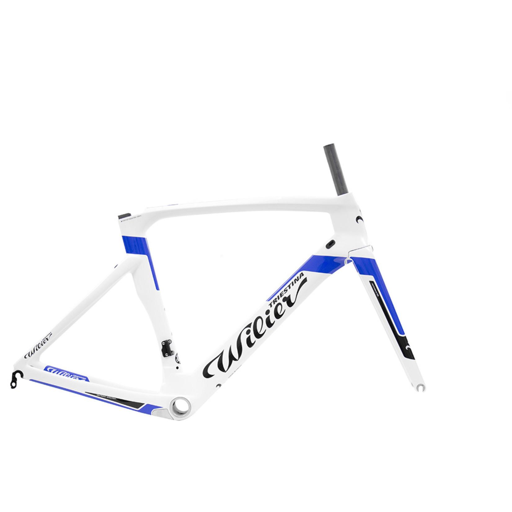 Wilier XL Cento1AIR Frameset White/Blue