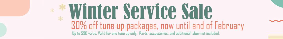 Winter Service Sale