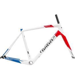 Wilier Medium Zero7 Frameset Red/White/Blue