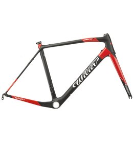 Wilier Large Zero7 Frameset Black/Matte Red