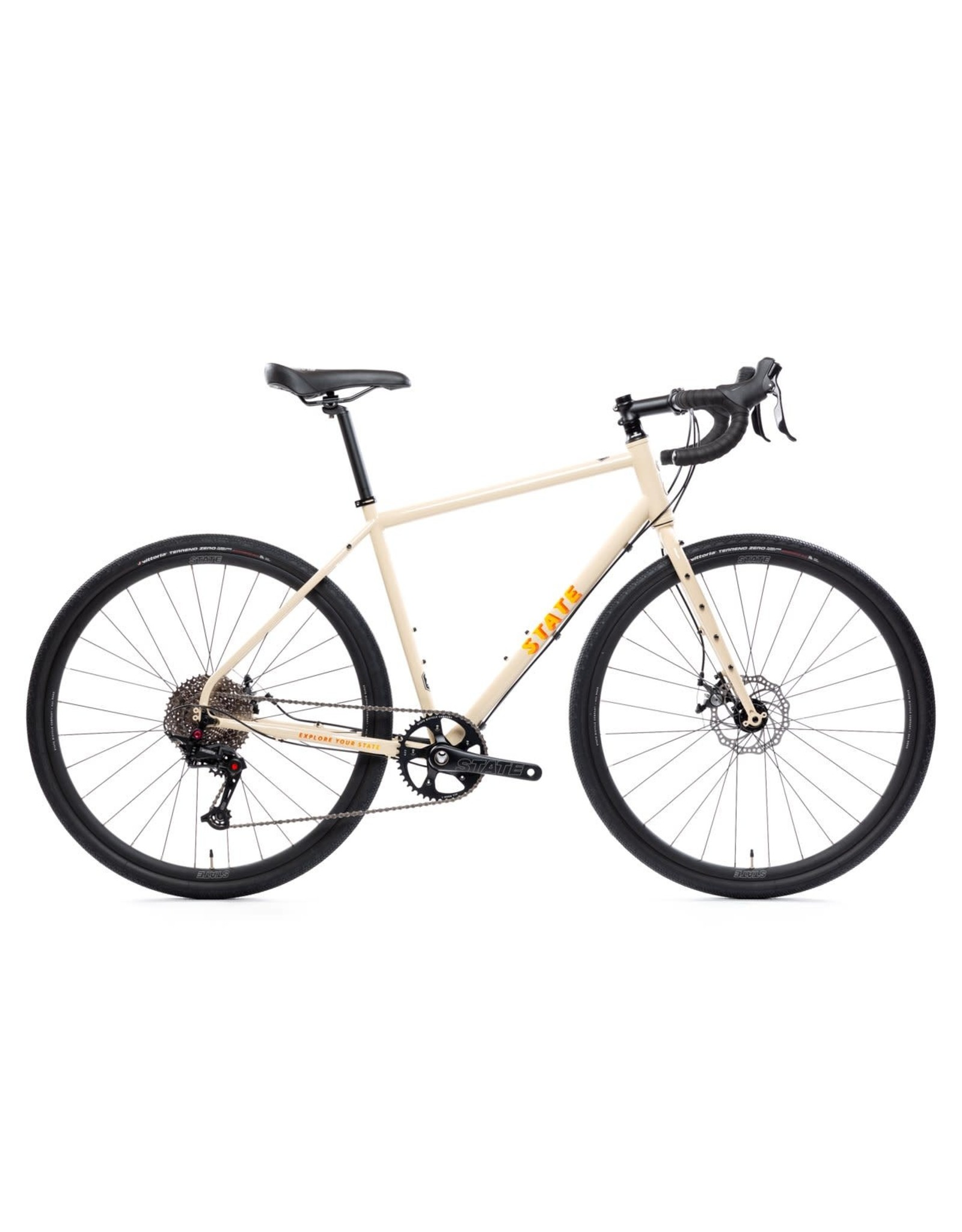 State Bicycle Co All-Road 4130 Sonoran Tan