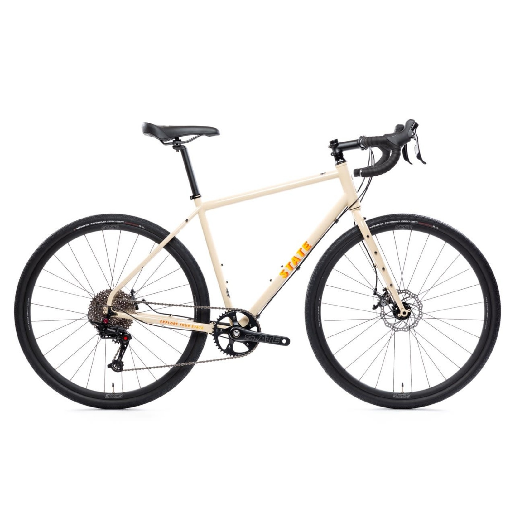 State Bicycle Co. All-Road 4130 Sonoran Tan