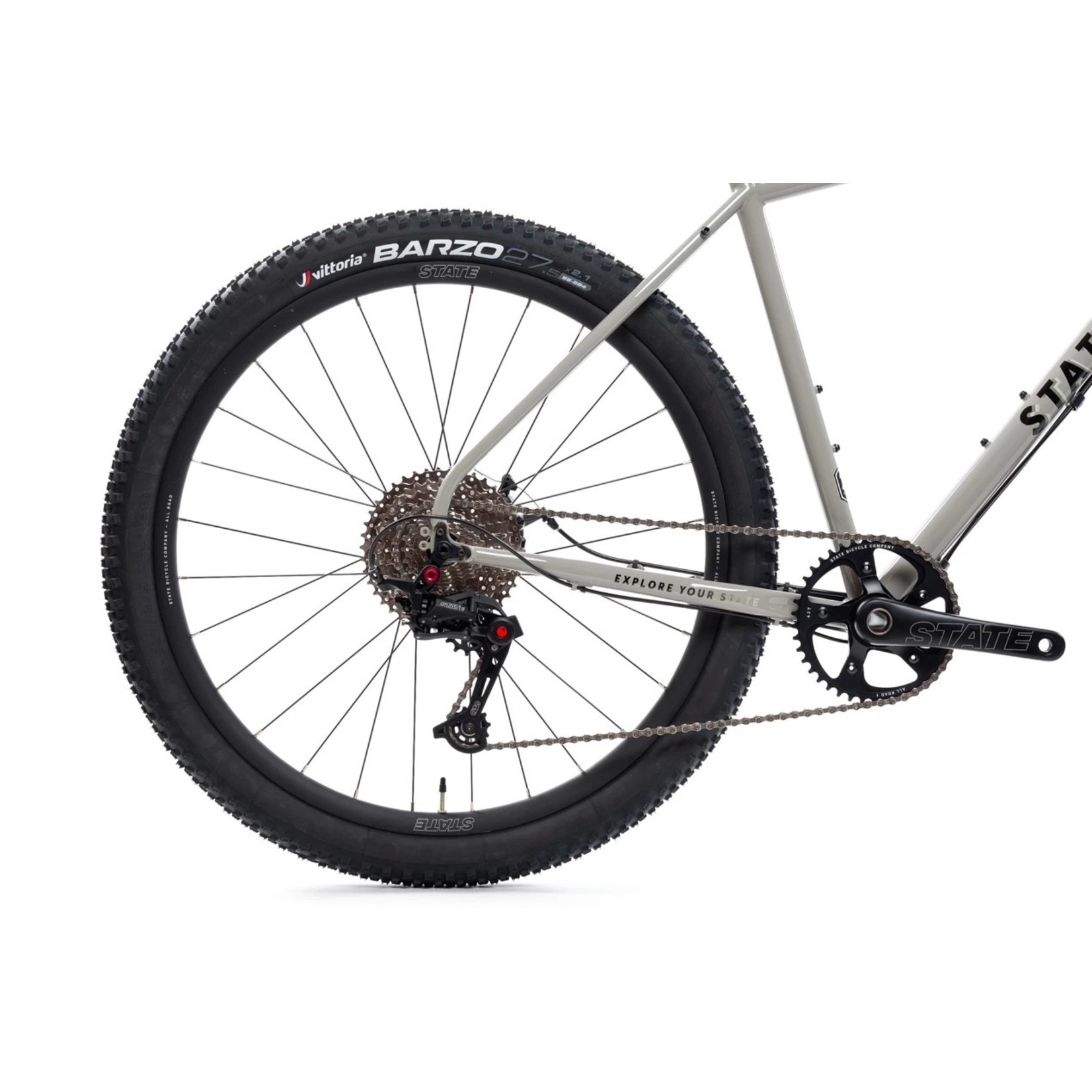 State Bicycle Co. 4130 All Road Grey