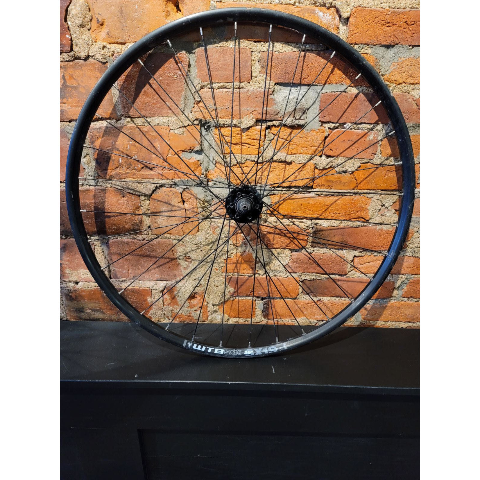 "WTB SX19 29"" 622 x 19c 32 spoke FR"