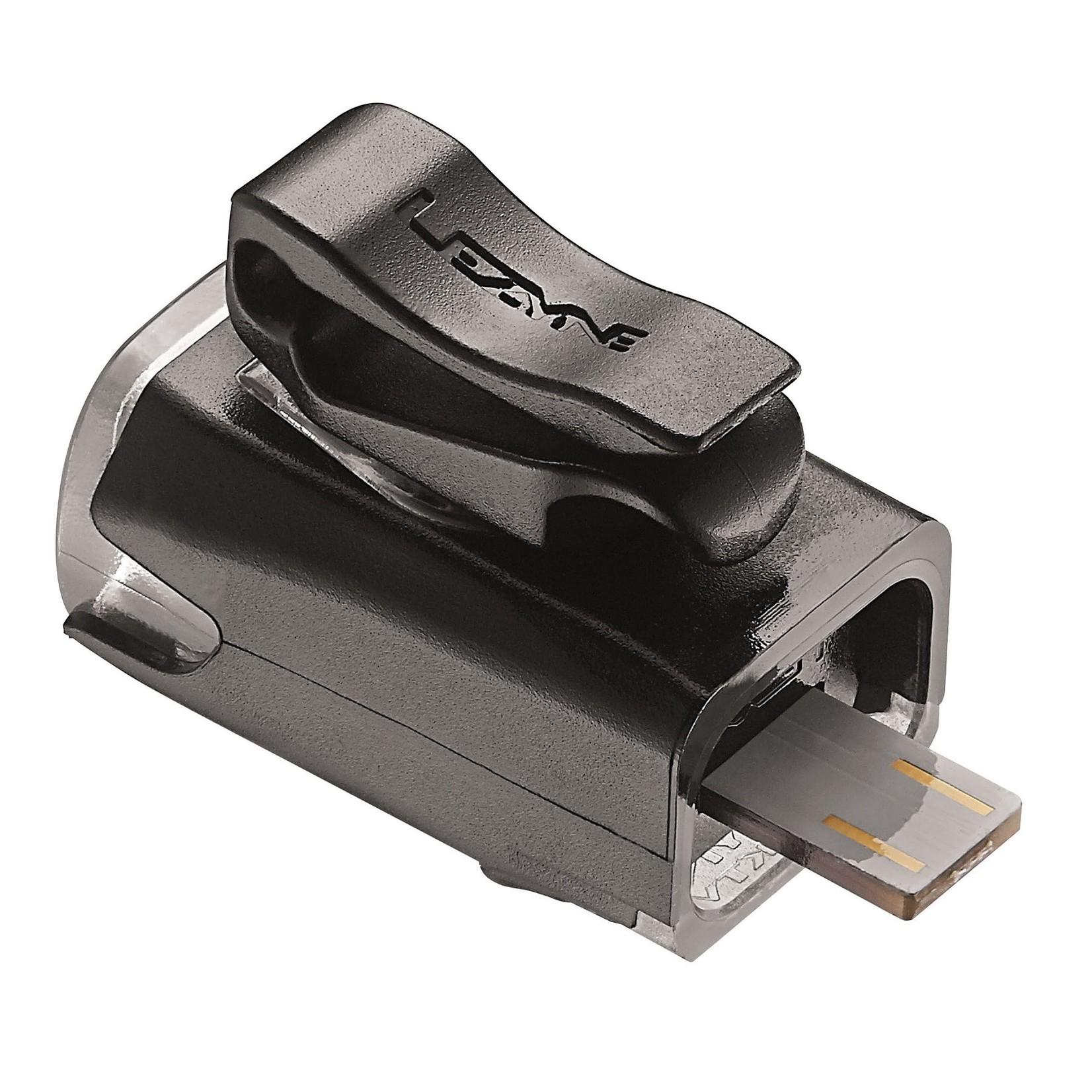 Lezyne KTV Drive USB Front Black