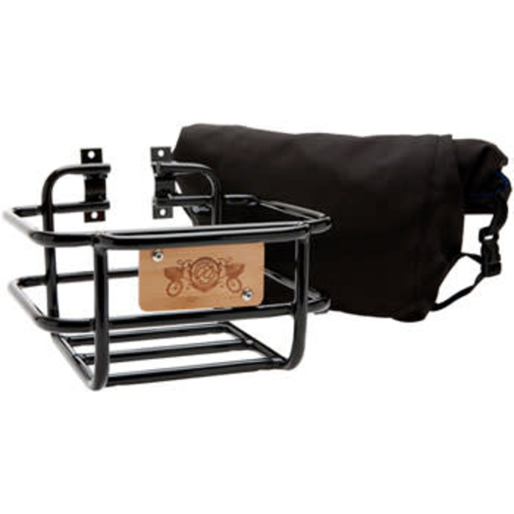 PDW Takeout Basket with Roll-Top Bag