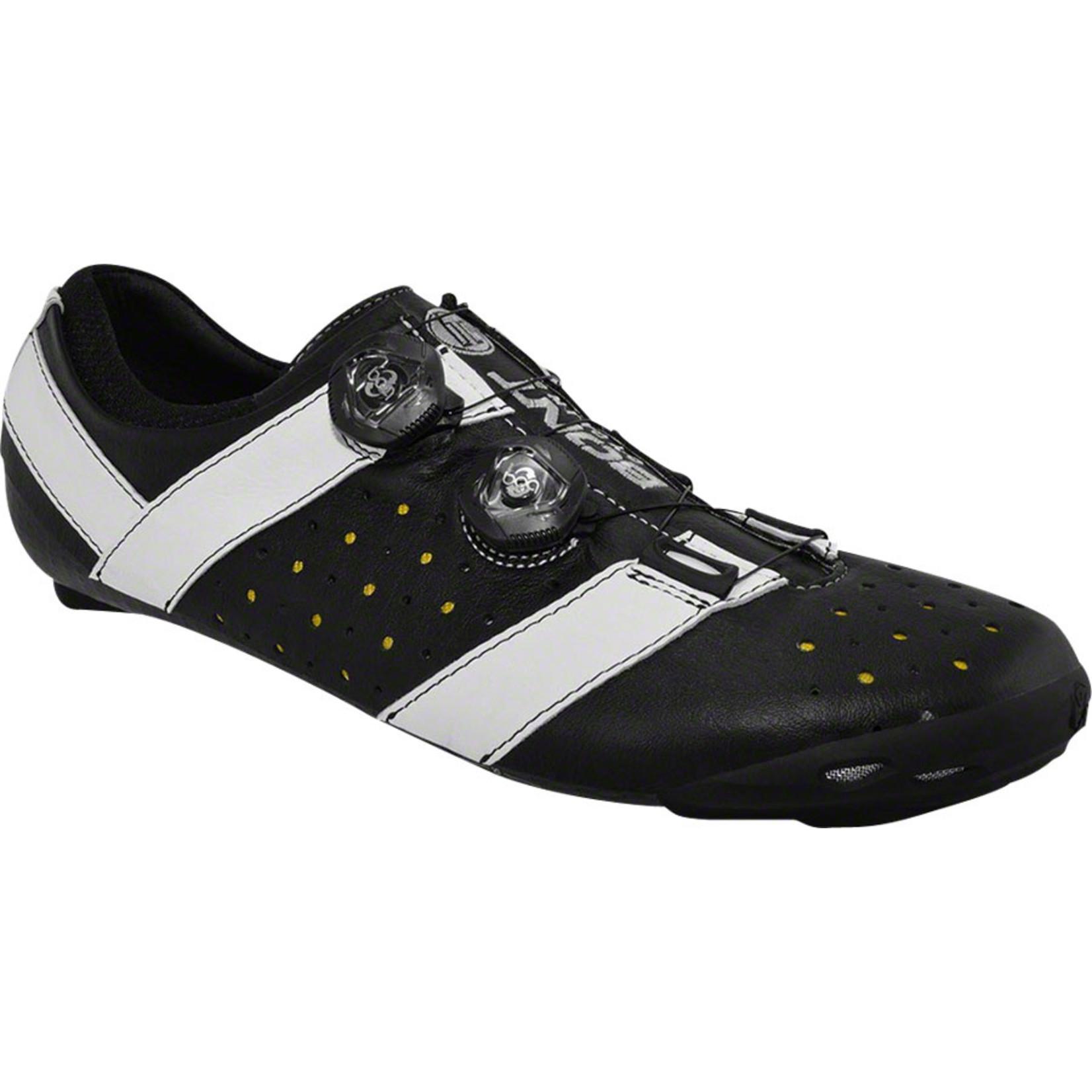 Bont Bont Vaypor+ Road Cycling Shoe: Black/White Size 44