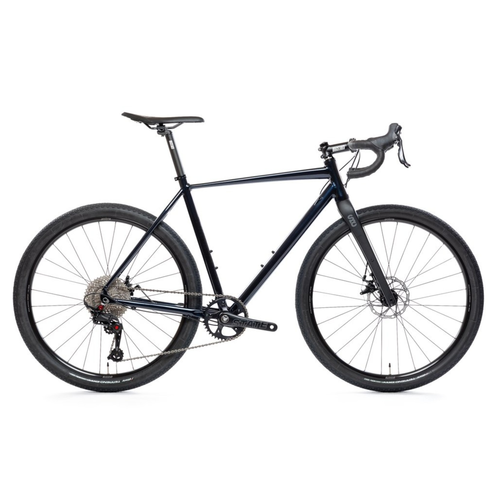 State Bicycle Co. 6061 Black Label All-Road - Deep Pacific X-Small 48cm