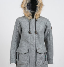Inesa Woll Fleece Kurzmantel