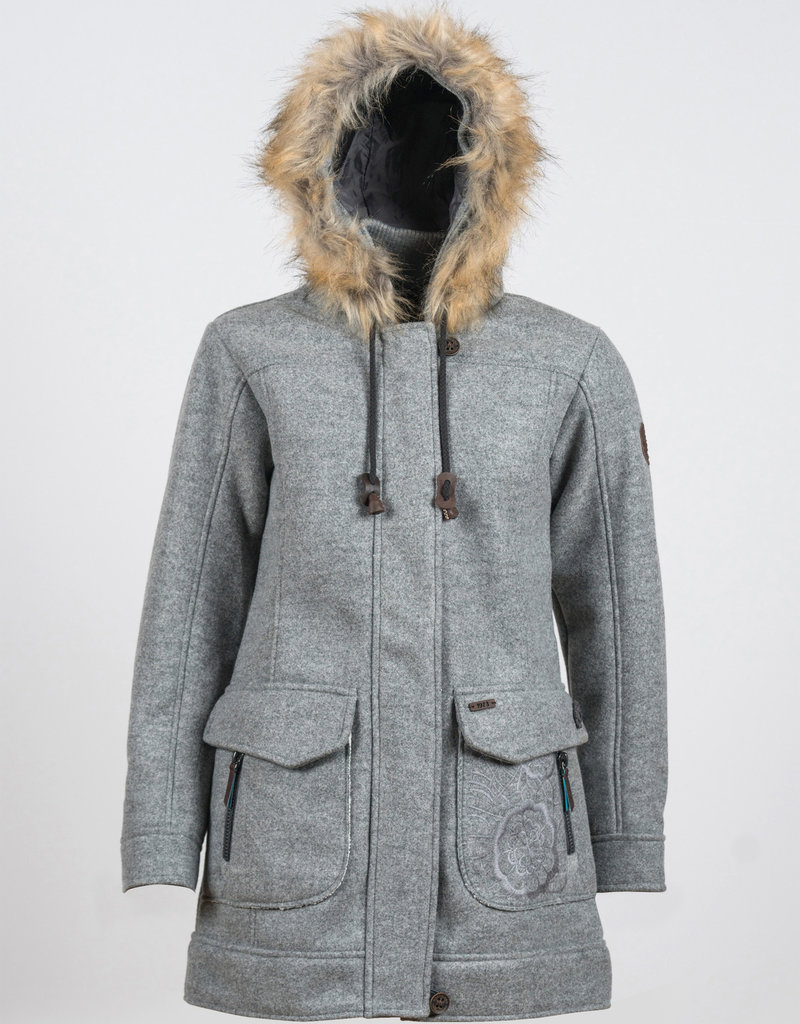 Inesa Woll Fleece Kurzmantel