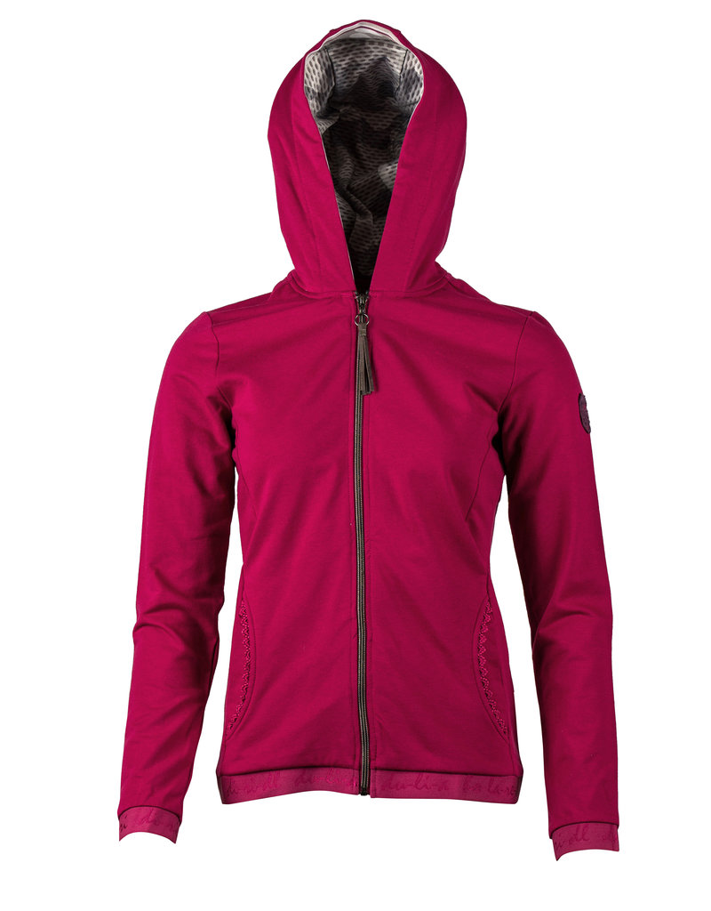 Fabienne Kapuzen Sweat Jacket