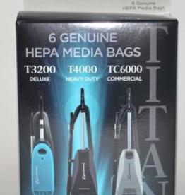 Titan Titan Hepa Bags 6pk Hepa TUV-H 17-2410-01