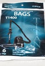 Titan Titan T1400 6pk bags