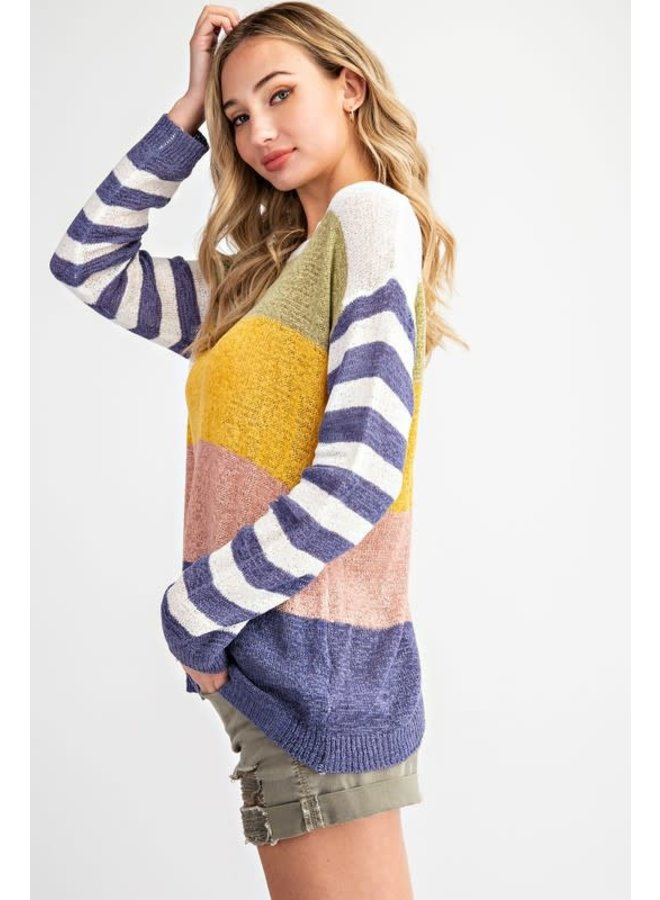 Light weight Multi Color Sweater