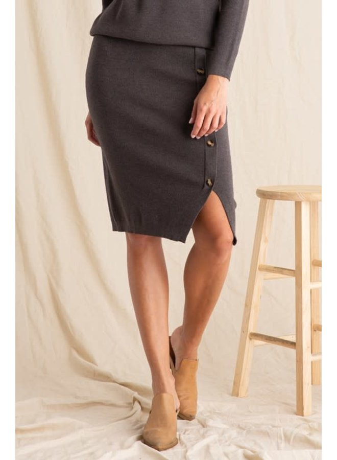 Chrisley set Sweater knit skirt